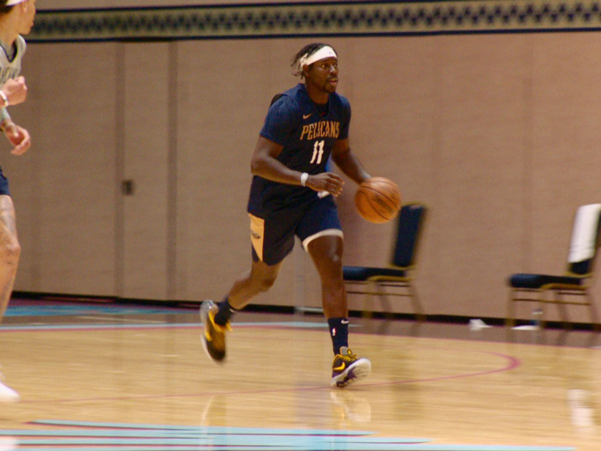 Pelicans look sharp in second scrimmage
