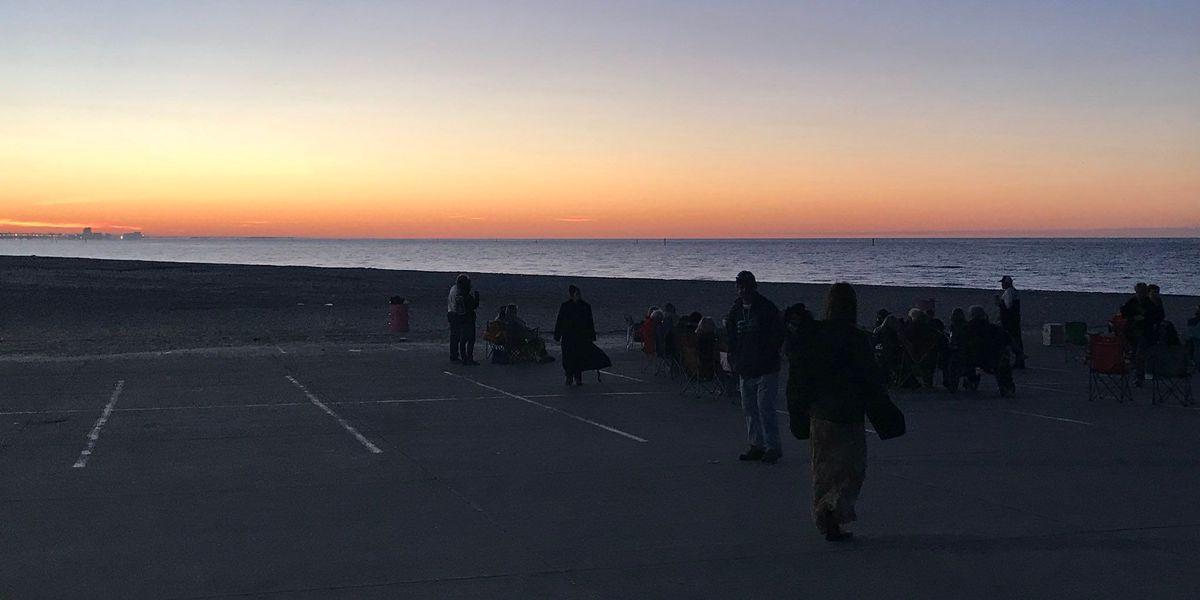 Sunrise services kick off Easter celebrations on the Coast