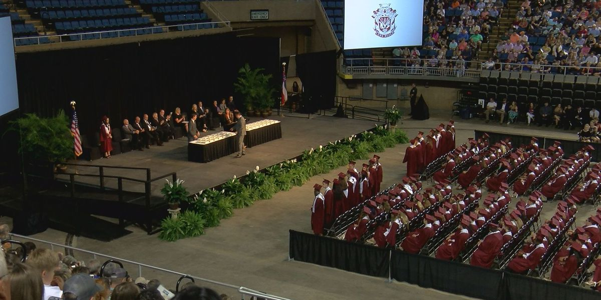 Graduation ceremonies include tribute to senior who drowned in the Wolf River