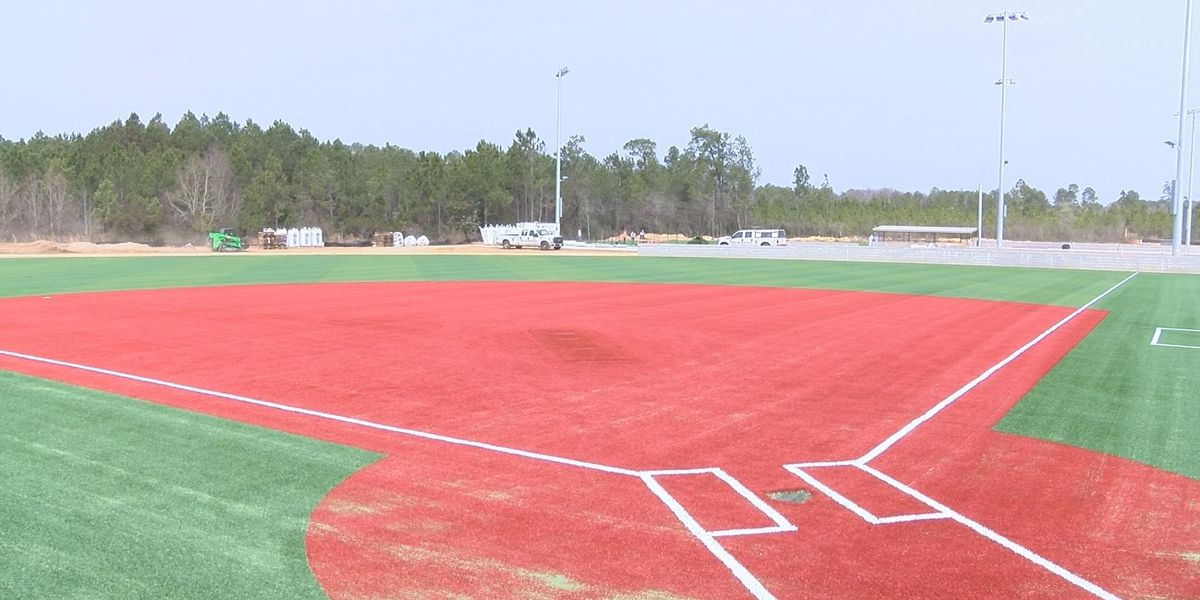 New baseball field at the Gulfport Sportsplex, a sign of progress