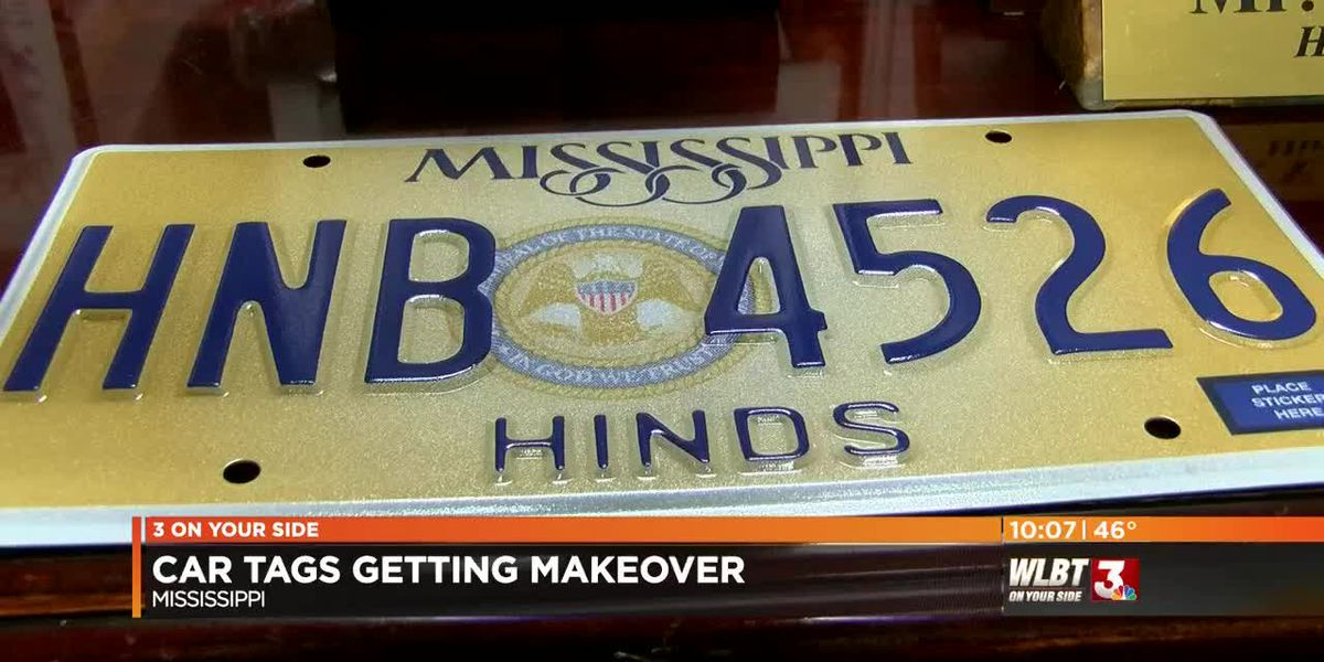 Mississippi car tags are getting a makeover