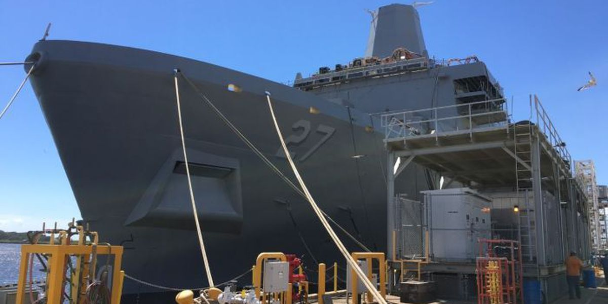 Ingalls to deepen channel for improved ship access