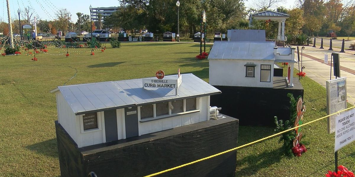 Replicas on display at Old D'Iberville Village tell city's history