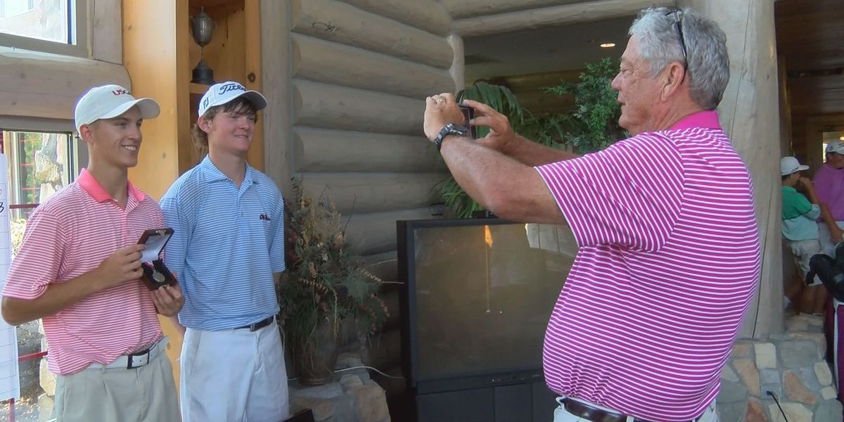 Two golfers punched their ticket to the 2016 USGA Jr. Amateur Championship in Tennessee