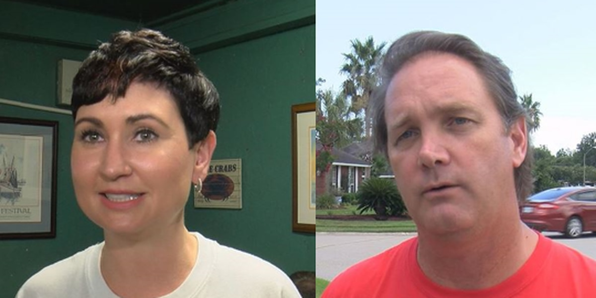 Newman, DeLano working the neighborhoods before primary election