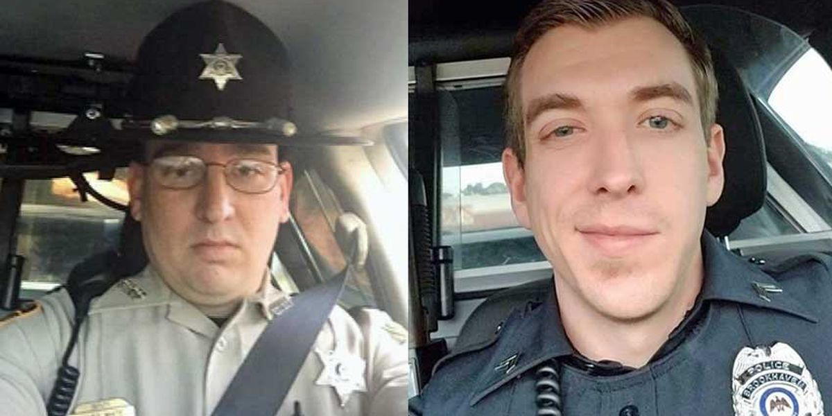 Community remembers two fallen officers