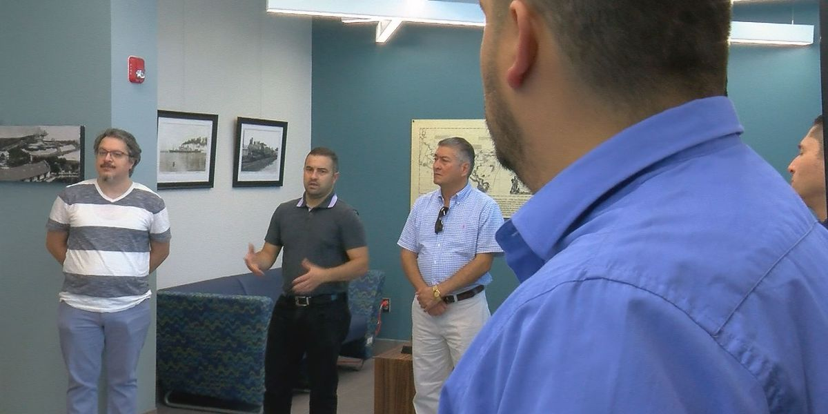 Colombian group tours South Mississippi forming new business partners