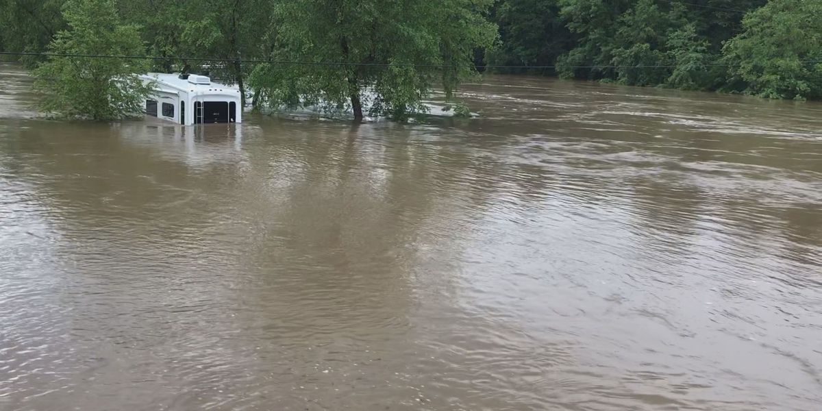 Flooding in Stone County forces dozens of residents out of homes