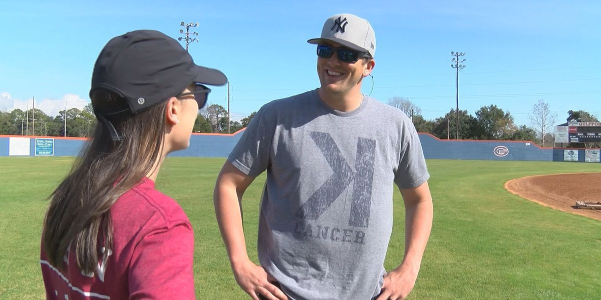MLB pitcher will host baseball clinic to benefit Gulfport residents affected by cancer