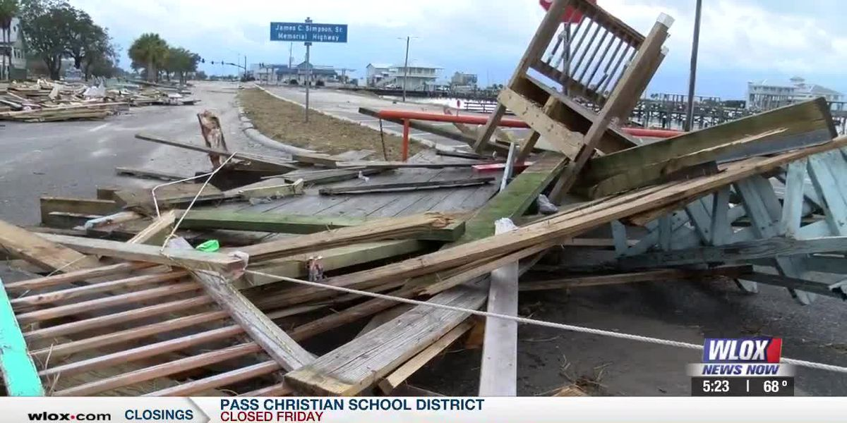 Pass Christian residents clean up after Hurricane Zeta