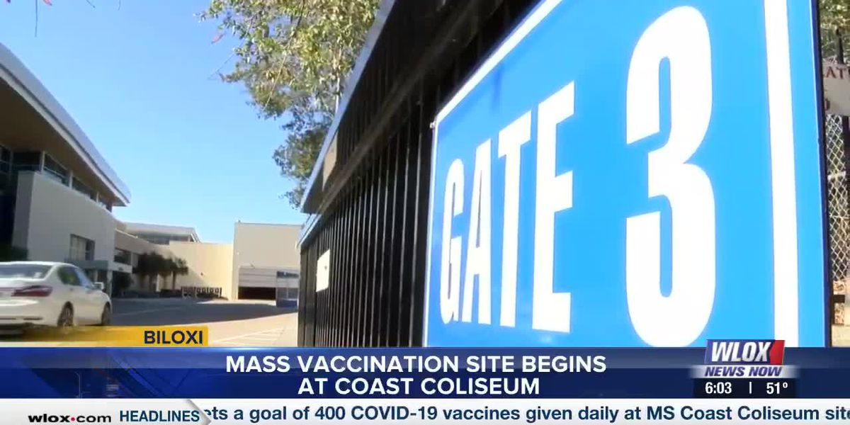 MSDH now operating out of Coast Coliseum to administer COVID-19 vaccines