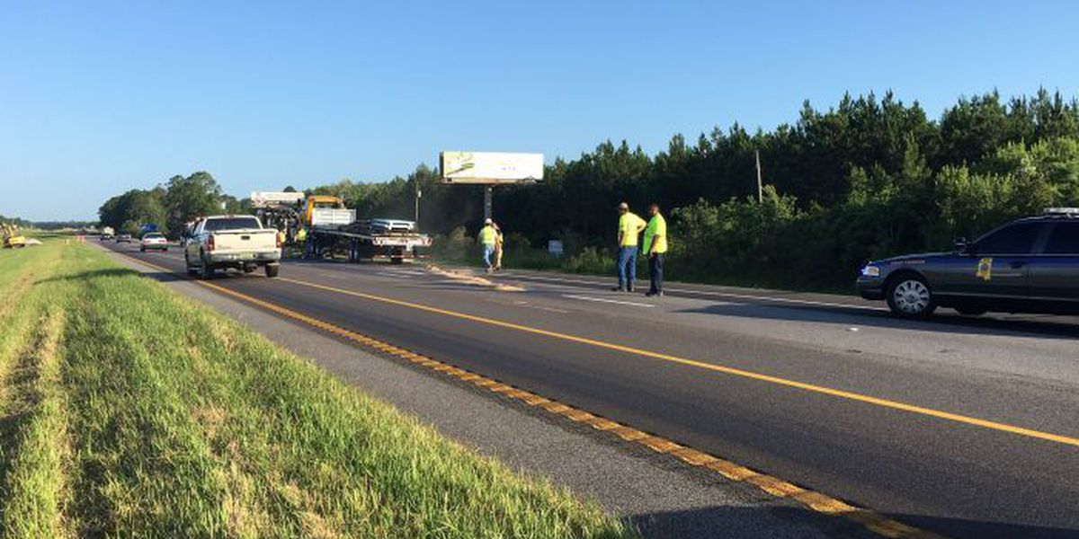 Diesel spill on I-10 clear