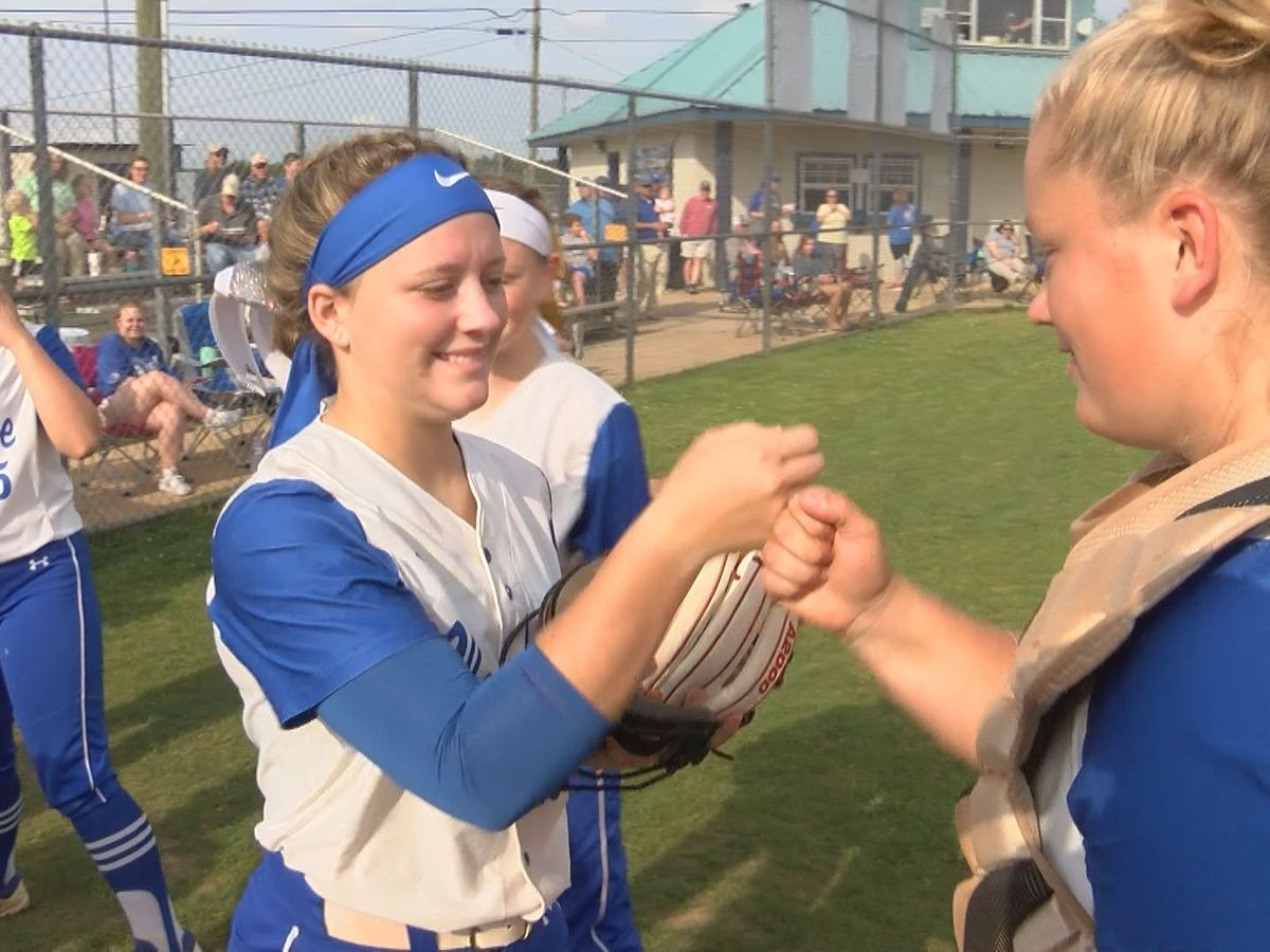 At 24-2, Vancleave softball team riding huge wave of momentum in playoffs