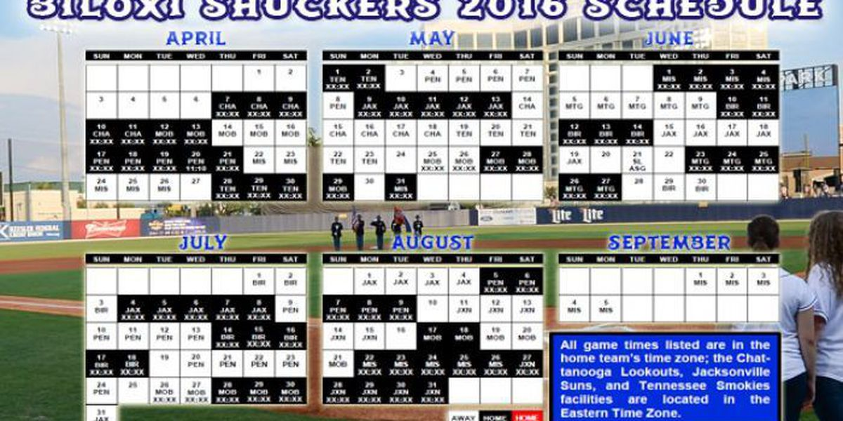 Shuckers will open 2016 season with 7-game home stand