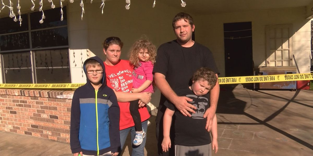 Ocean Springs family struggling to make ends meet after house fire