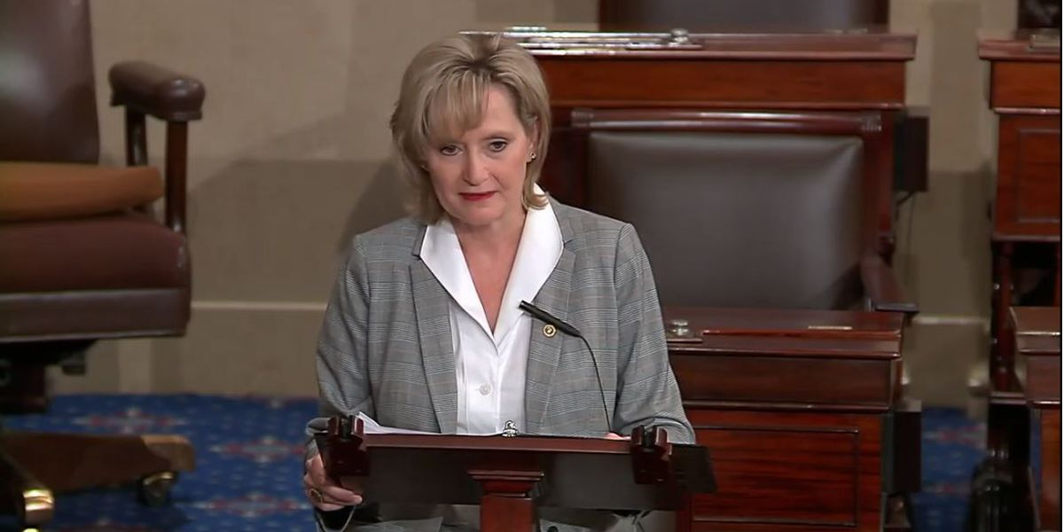 Hyde-Smith honors fallen Biloxi police officer in maiden Senate speech