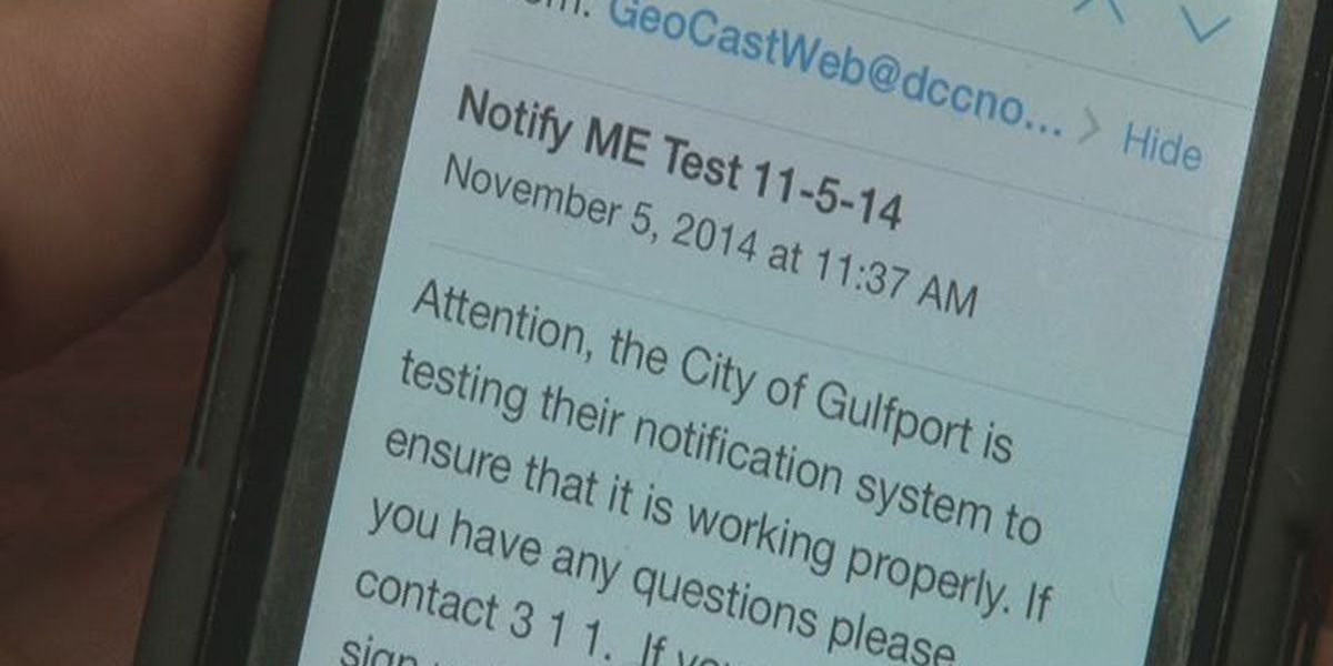 Gulfport urges more residents to sign up for city alerts