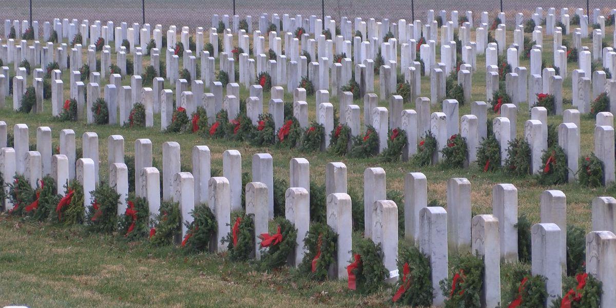 Mound City National Cemetery Wreaths dedication