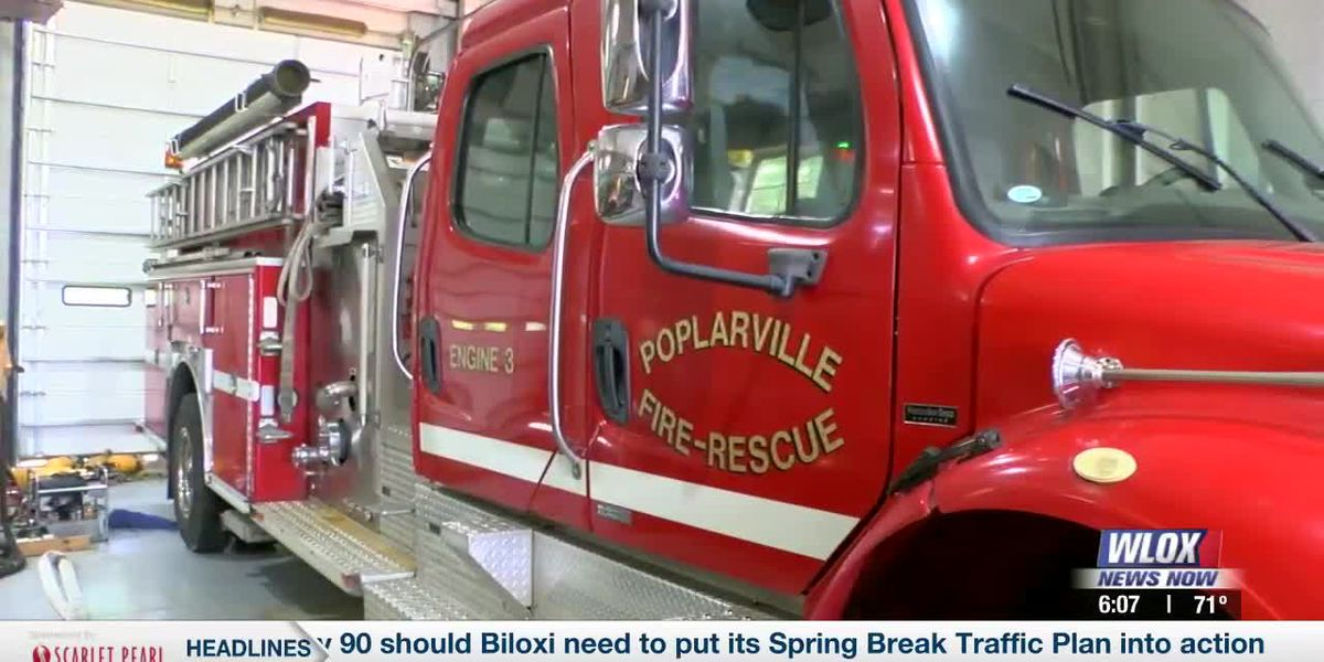 UPDATE: Poplarville Fire Dept's Ladder 1 truck back in service; One other still needs repairs