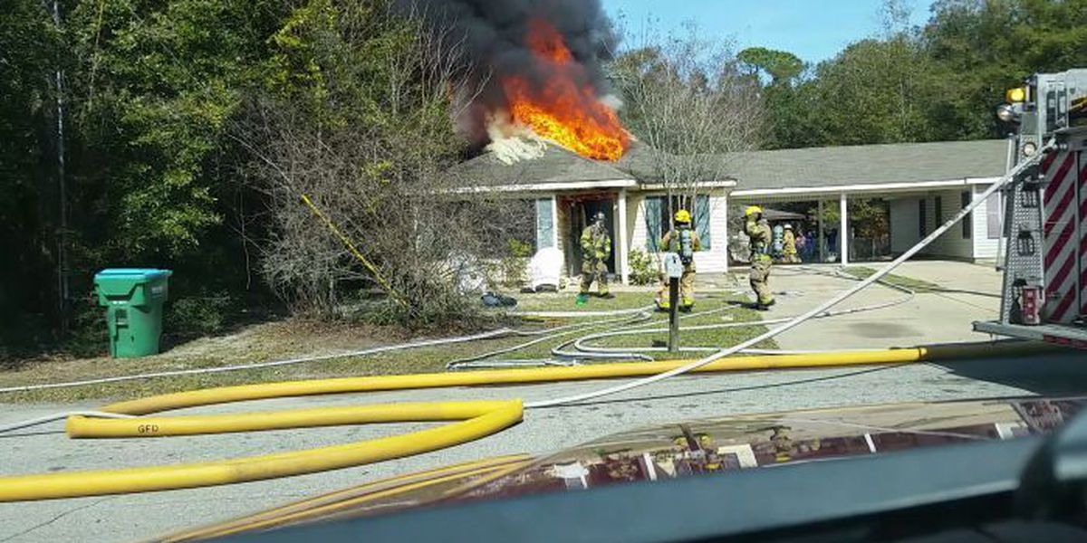 Fire causes heavy damage to Gulfport home