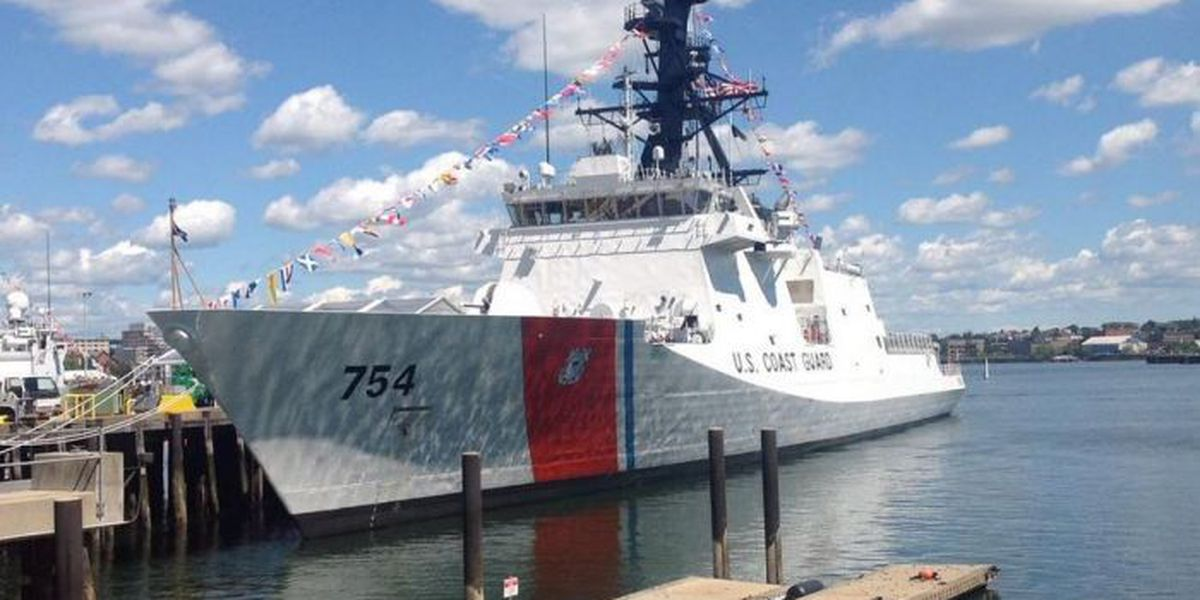 Ingalls built vessel commissioned at ceremony in Boston