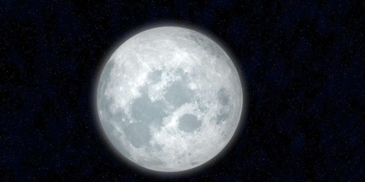 Rare summer solstice full moon Monday