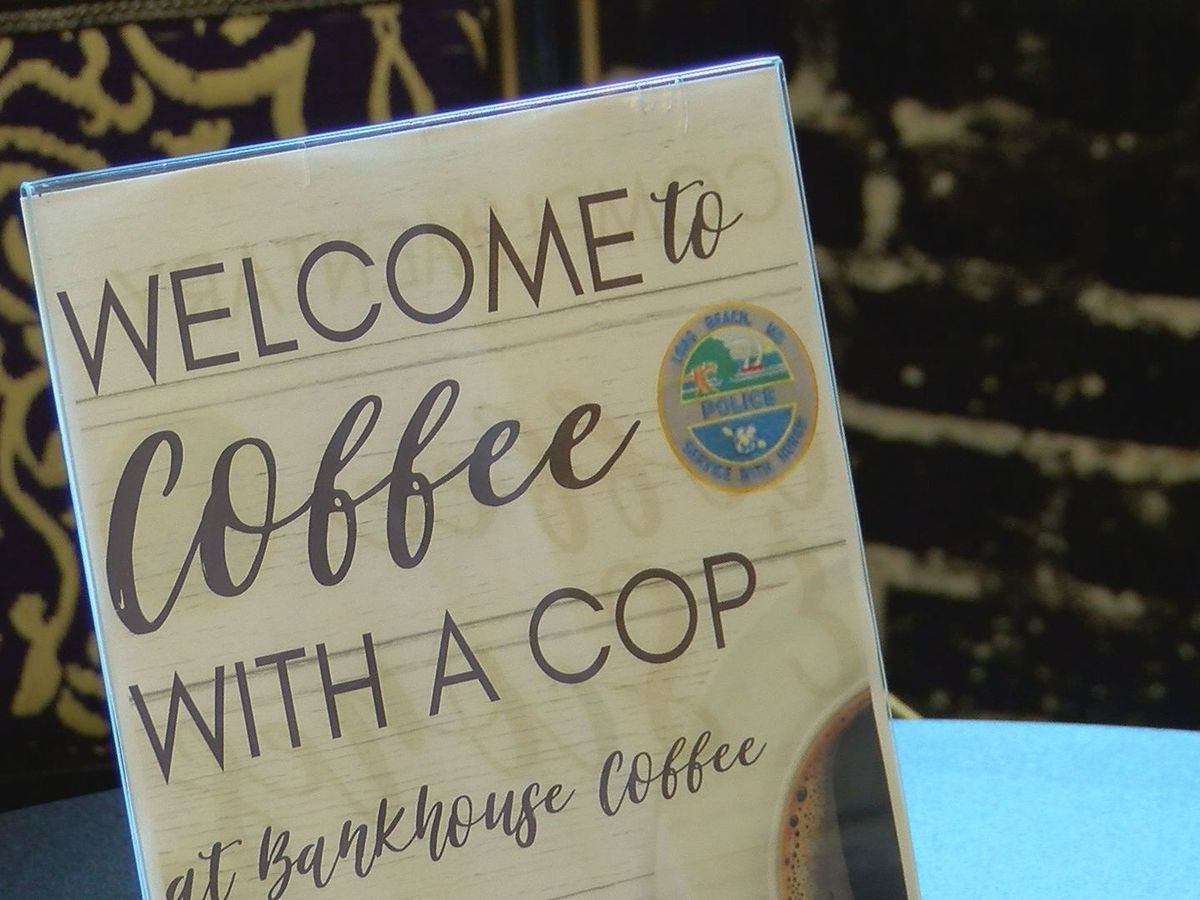 Long Beach police host Coffee with a Cop