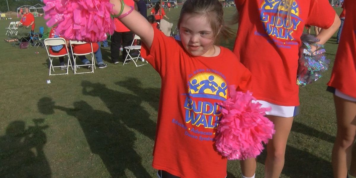 Annual buddy walk aims to raise awareness for down syndrome