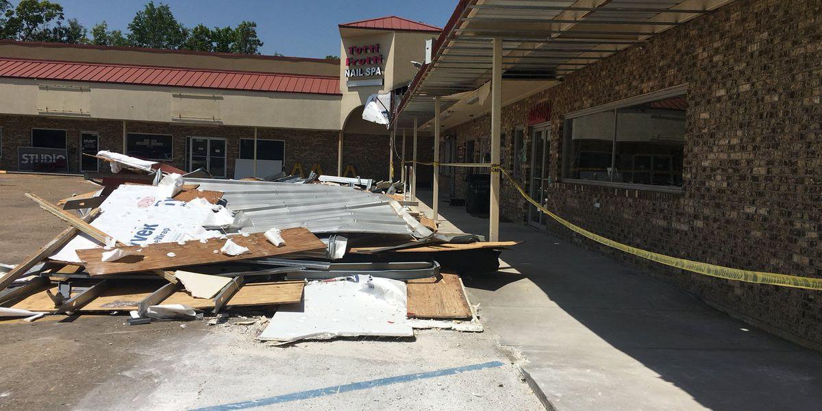Lemoyne Plaza businesses back up and running after tornado
