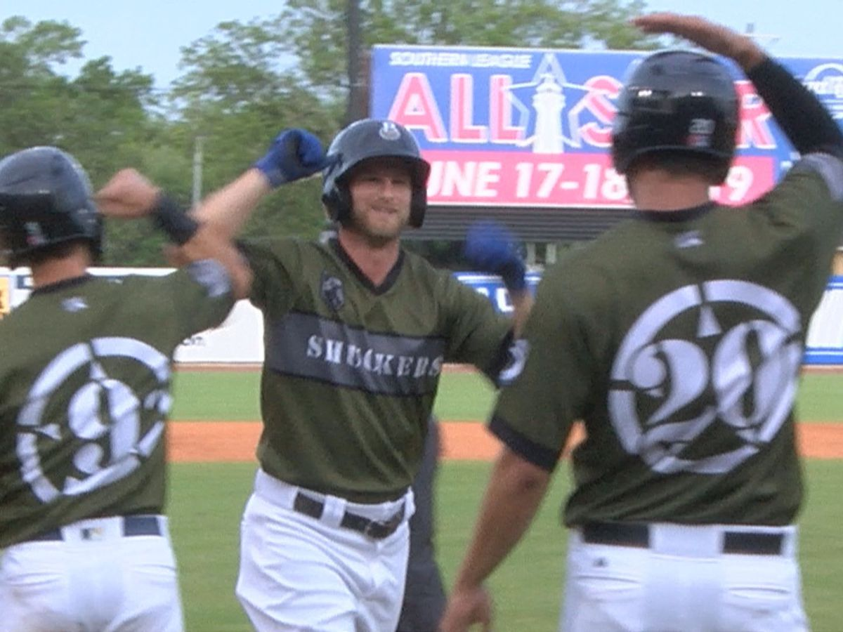 Six Straight! Shuckers win back-and-forth battle with Lookouts