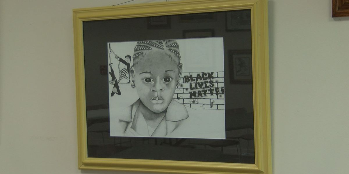 Black history art exhibit showcases talent in Moss Point community