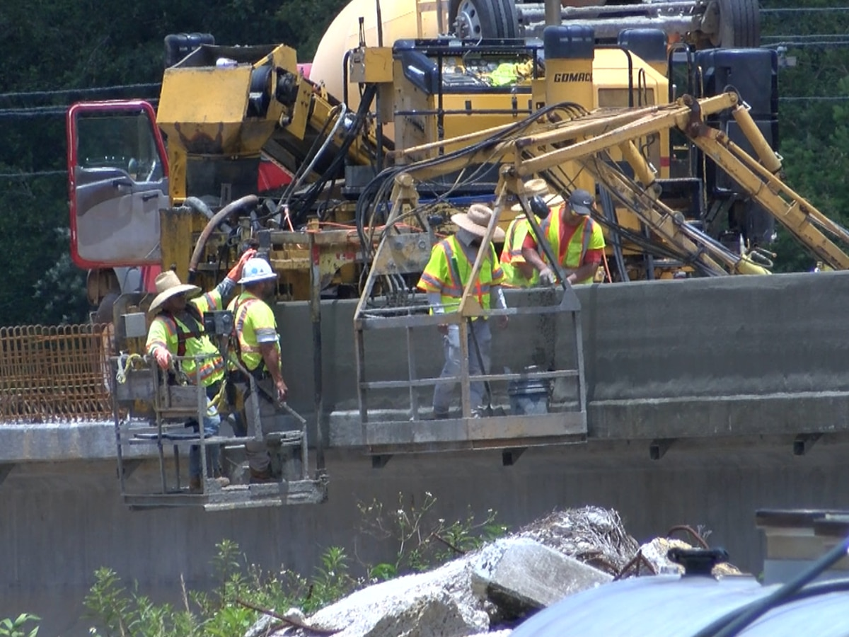 Highway 57 bridge project over Red Creek taking longer than expected