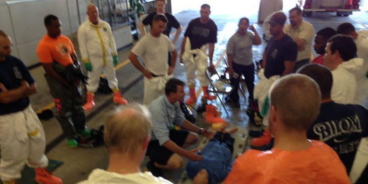 Intense hazmat training will save lives