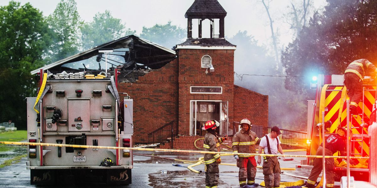 Pastors of burned Louisiana churches discuss forgiveness and rebuilding