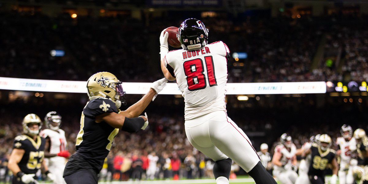 Falcons shock the Saints in the dome