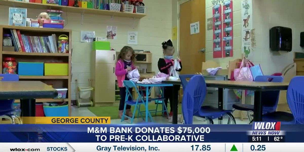 M&M Bank gives a boost to George County Pre-K program