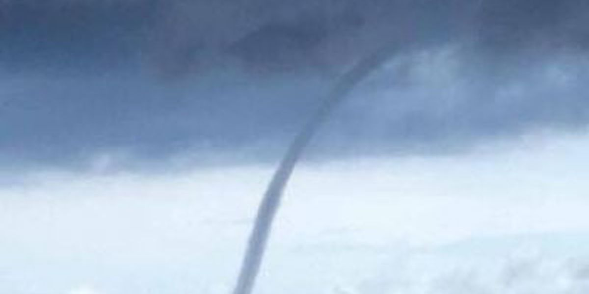 Waterspout spotted off the coast of Jackson County