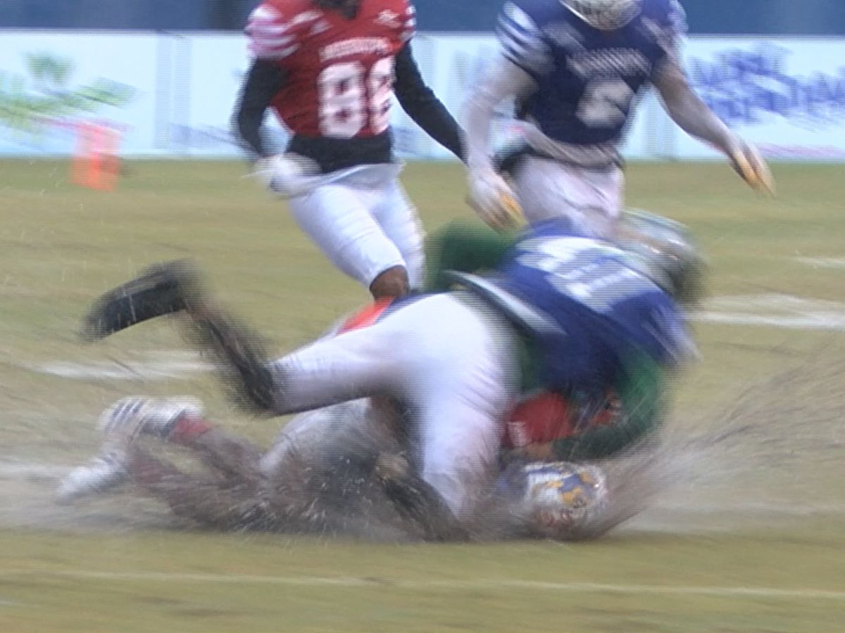 Muddy, Rainy conditions lead to scoreless 70th annual Bernard Blackwell All-Star Classic