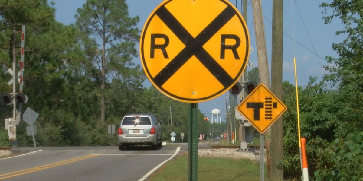 Gautier conducts survey for location of railroad crossing overpass