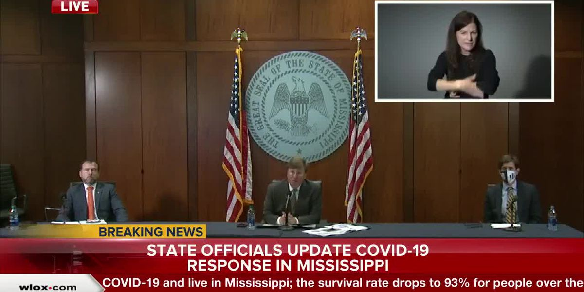 Gov. Reeves speaks more on Harrison County COVID-19 case numbers