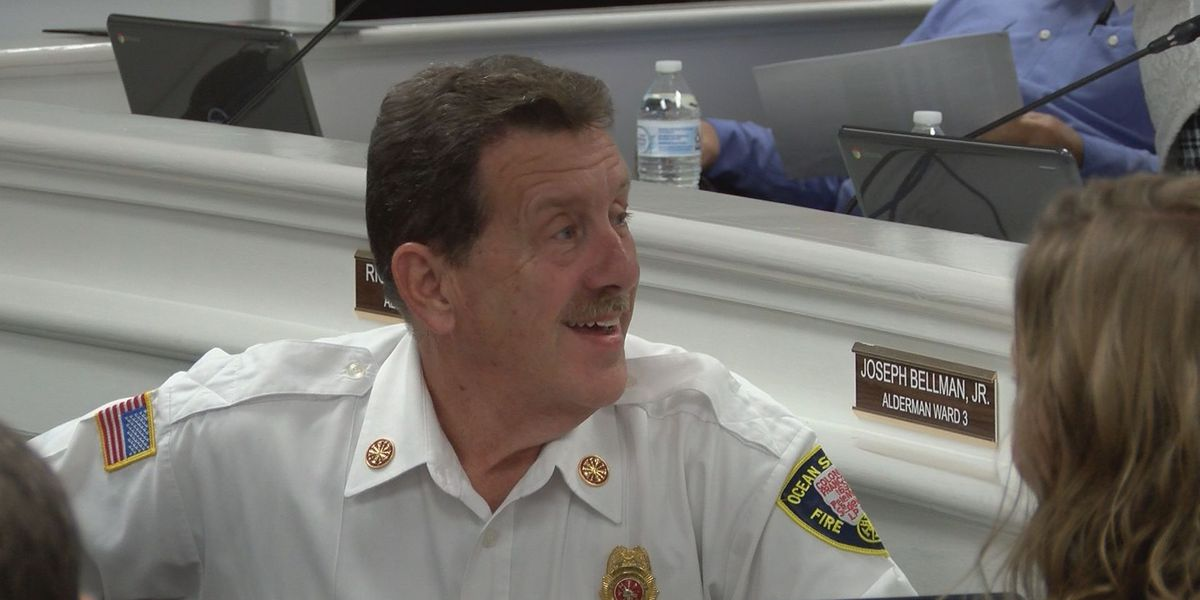Ocean Springs fire chief retires after 37-year career