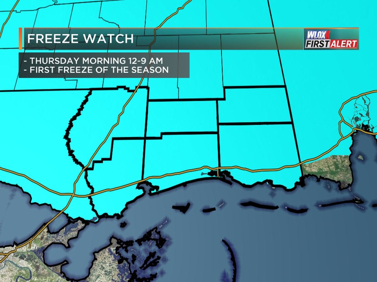 Cold Alert: First Freeze 36 Hours Away