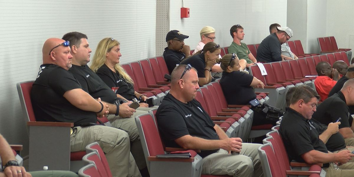 MS school resource officers train in Biloxi to keep students safe