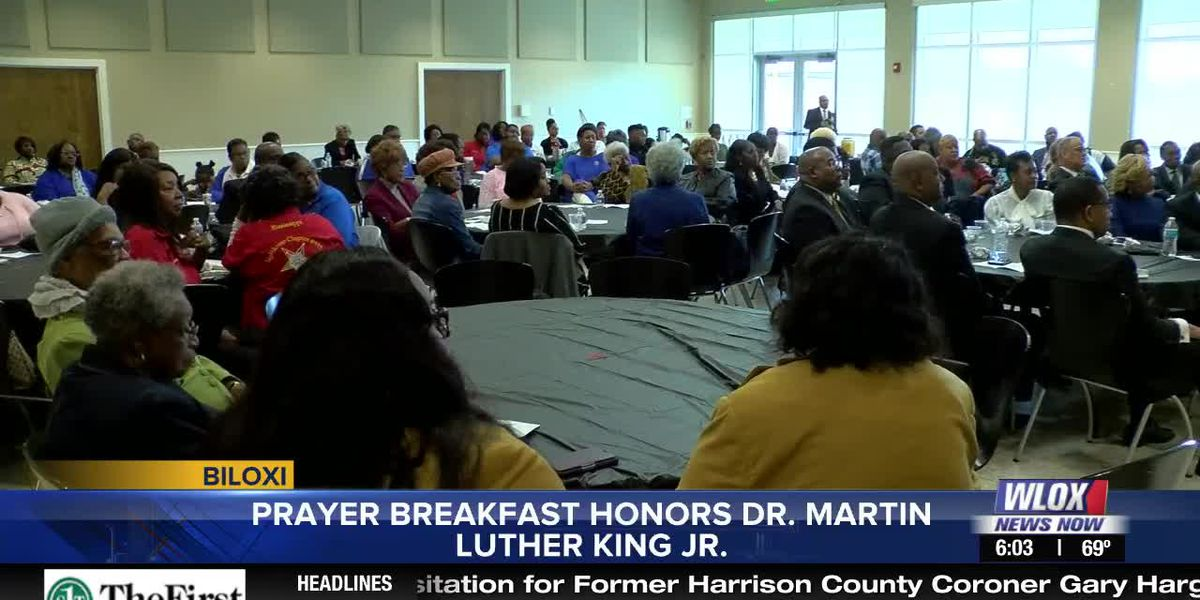 Biloxi prayer breakfast honors Dr. Martin Luther King Jr.