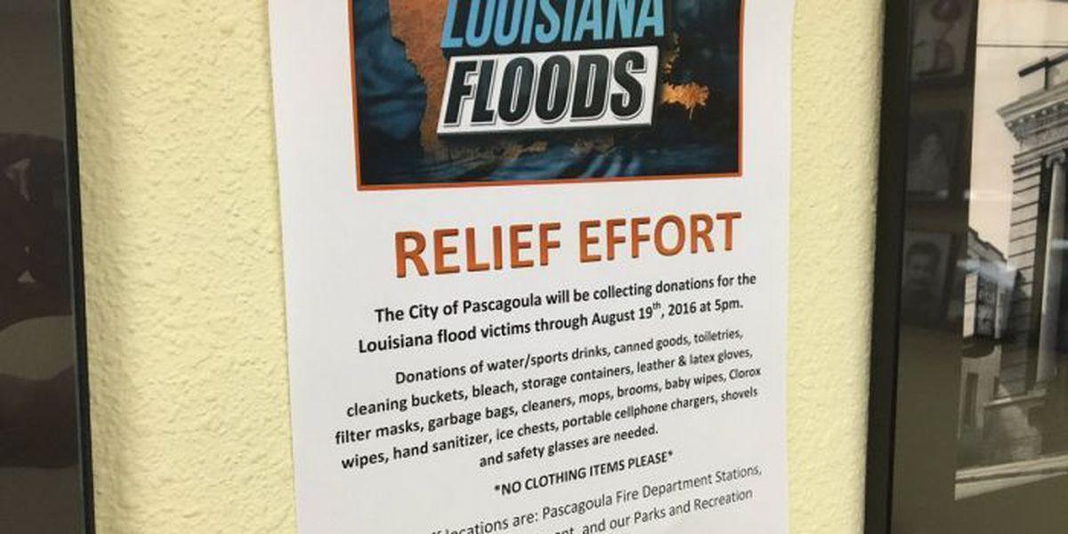 Pascagoula joins LA flood relief efforts