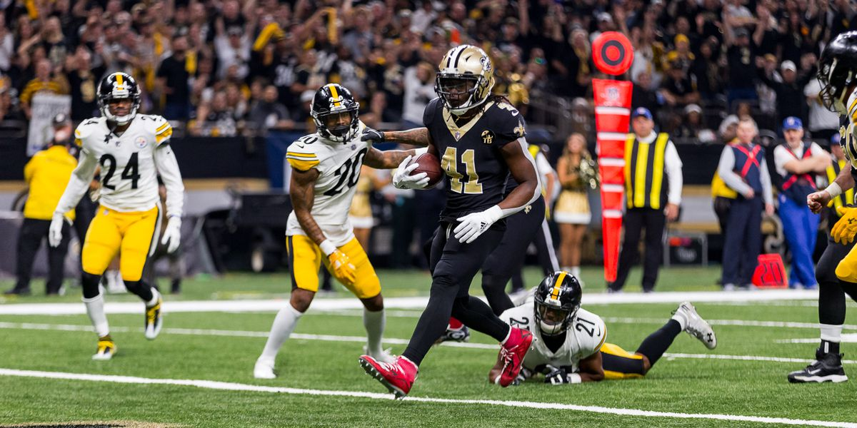 Saints clinch home-field advantage throughout the playoffs with win over the Steelers