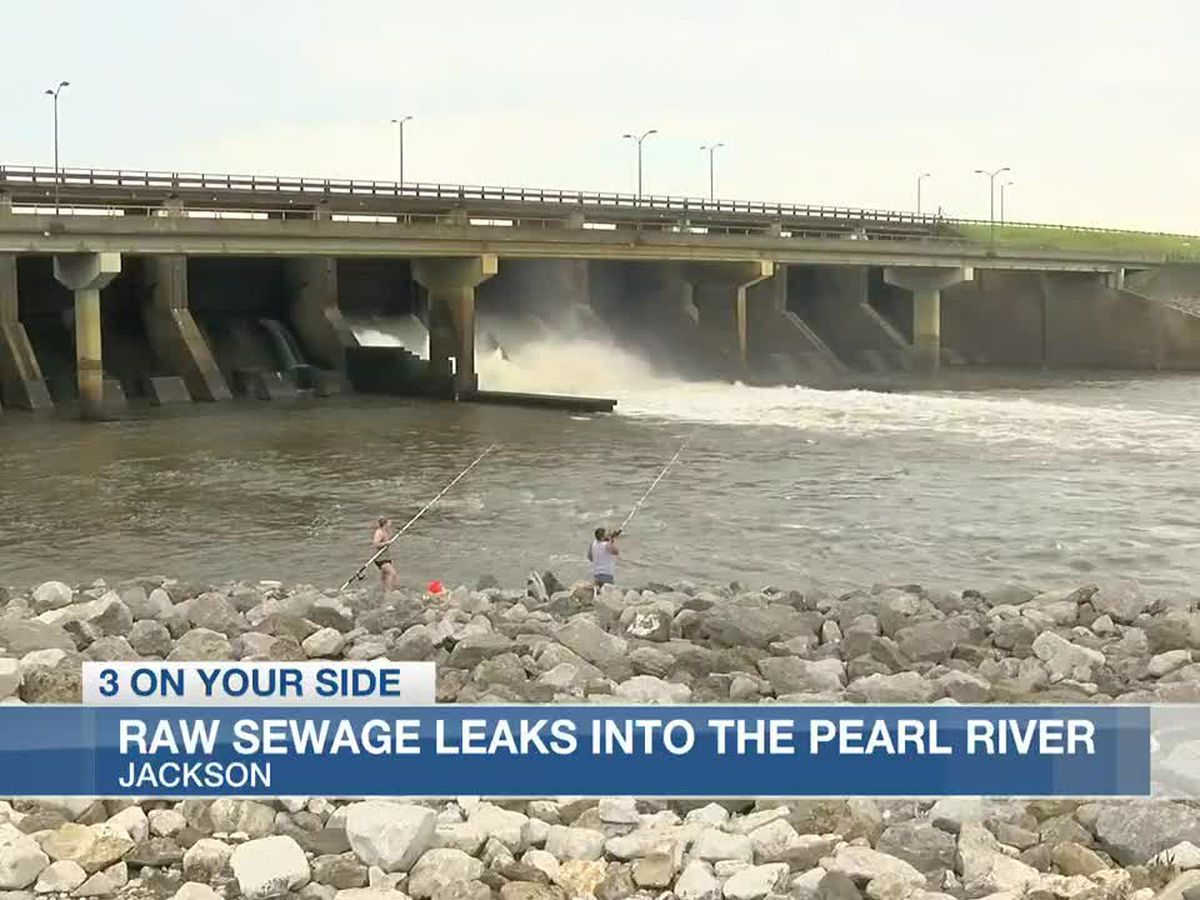 Report: Nearly a half billion gallons of raw sewage leaked into the Pearl River during 2020 flood