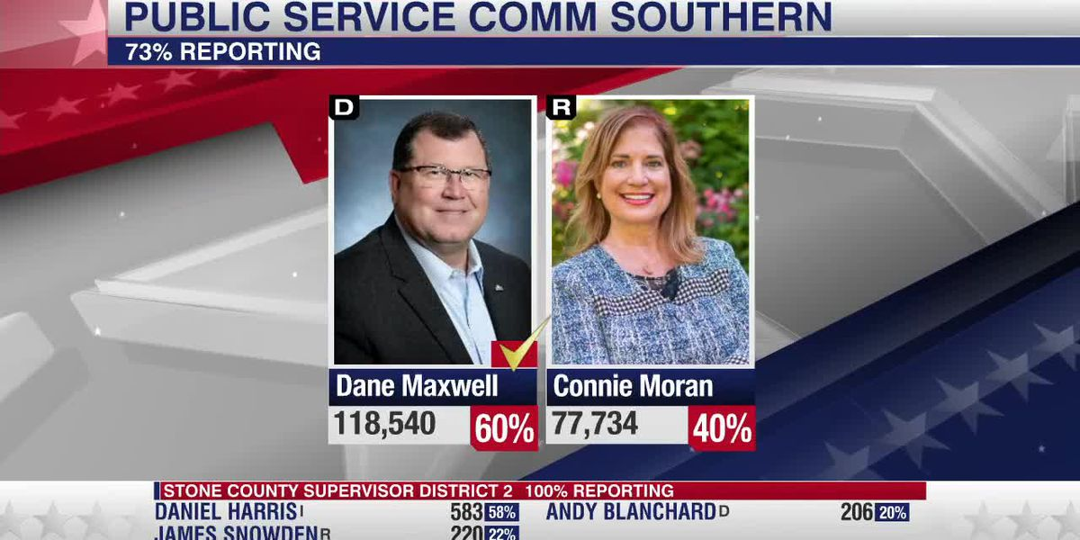 Pascagoula Mayor Dane Maxwell wins Public Service Commissioner for Southern District