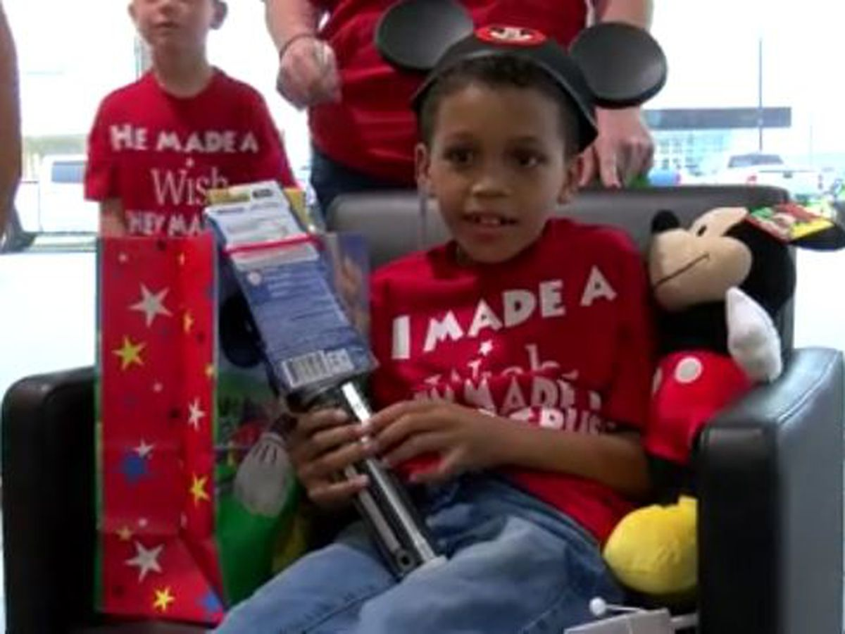 D'Iberville boy gets magical surprise from the Make-A-Wish Foundation