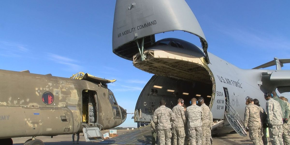 Air Force, Navy, and Army participate in joint training in Gulfport